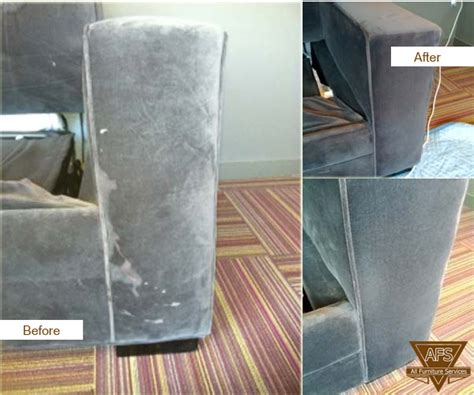 couch stain removal leather repair services color match same day before and