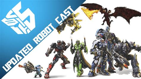 film robot transformer youtube transformers 5 robot cast updated youtube