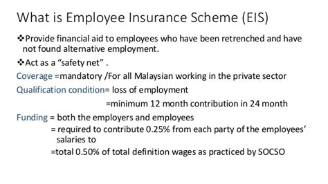 malaysia higher employers contribution for employees malaysia employee insurance scheme