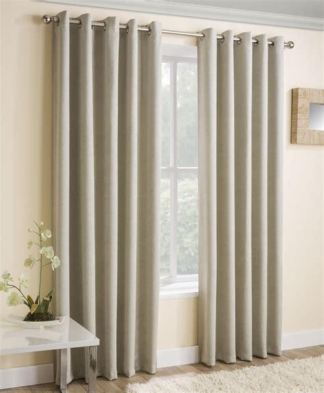 cream grey curtains vogue cream thermal dim out curtains from net curtains direct