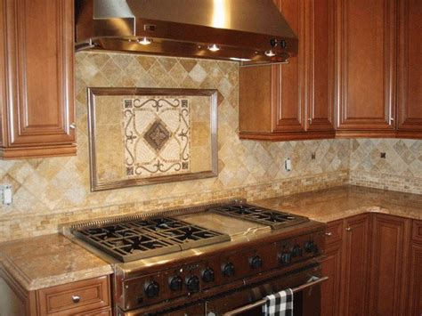 Tile Medallions For Kitchen Backsplash Mosaic Medallions Traditional Kitchen San Diego By Landmark Metalcoat Inc