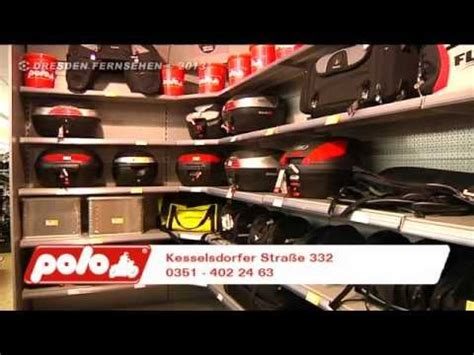 Polo Motorrad Youtube by Polo Motorrad Unser Superstore In Dresden Gompitz Youtube