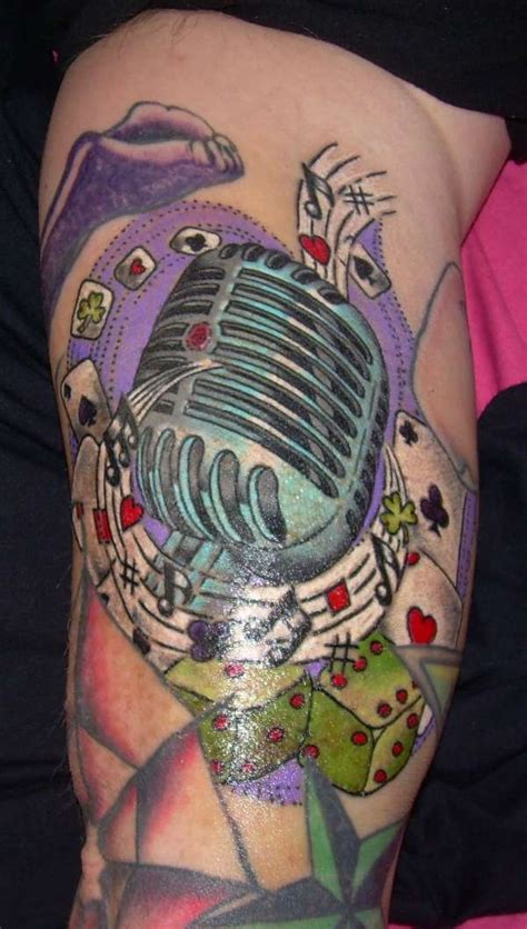 rock n roll tattoo
