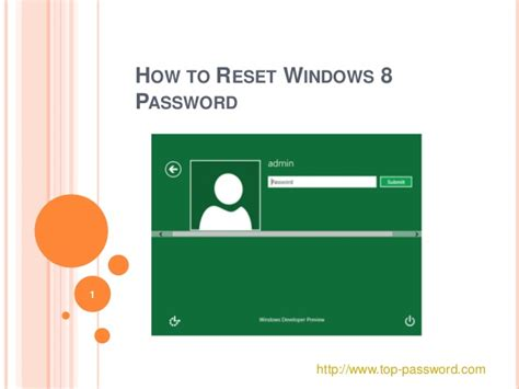 windows 8 reset password not working close validation messages success message fail message