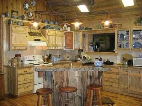 barn wood kitchen decorating design