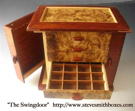 Handmade Jewelry Box Plans - handmade wooden jewelry boxes plans woodworking projects