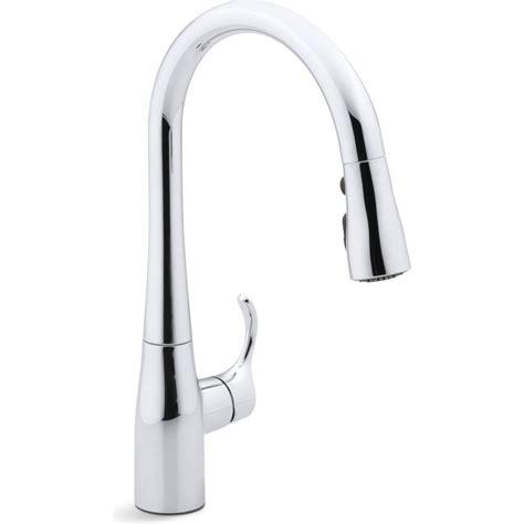 kohler simplice kitchen faucet sale kohler k 597 cp simplice polished chrome pullout