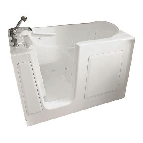 american standard walk in bathtub reviews american standard gelcoat standard series 60 in x 30 in