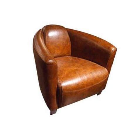 fauteuil club cuir marron achat vente fauteuil