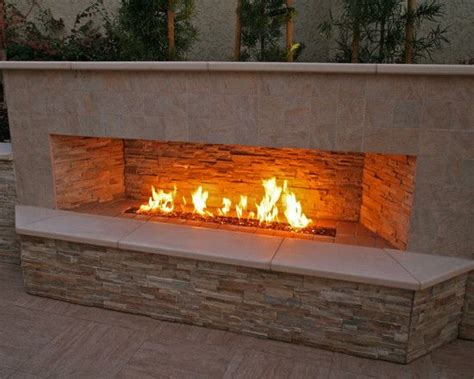 25 best ideas about outdoor gas fireplace on