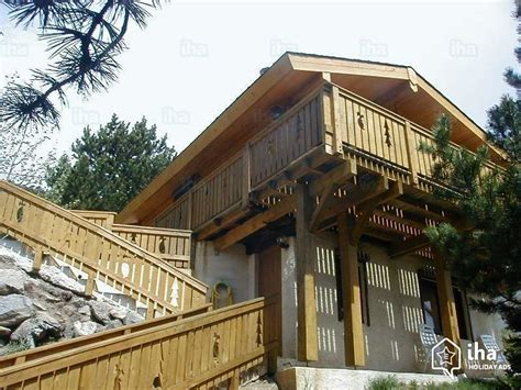 chalet for rent in les angles iha 40211