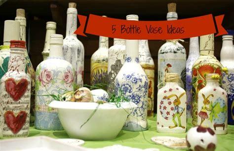 five ideas for using bottles as vases weddingbee