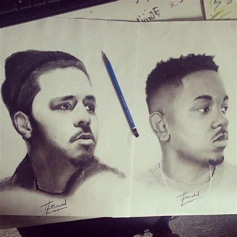 J Cole Sketches by 21 Best Images About Rap On White Pencil