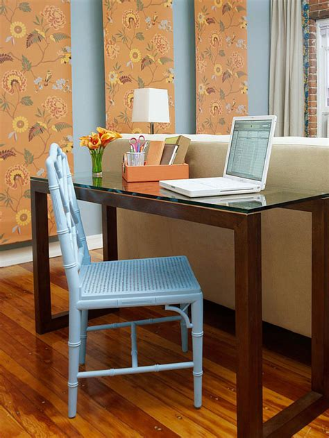 Office Desk In Living Room Easy Decorating Ideas For Summer 2013 From Bhg Decorating Idea