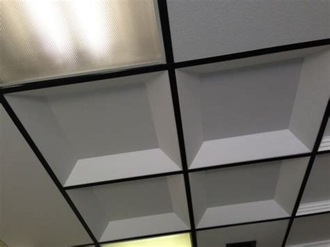 Coffered Ceiling Materials Coffered Ceiling Tiles Basement Remodel