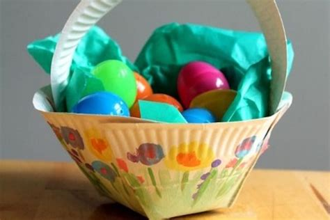 Paper Plates Piring Kertas Pesta Nc0311 11 easter basket crafts for