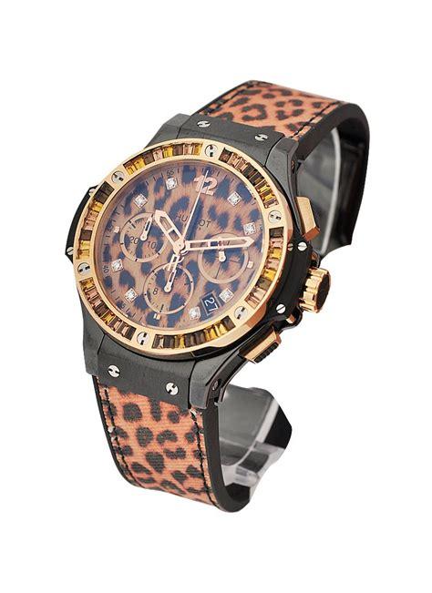 Hublot Big Blue Rosegold Rubber 1 341 cp 7610 nr 1976 hublot big 41mm tutti frutti gold essential watches