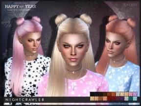 the sims 4 hair galaxy hair by nightcrawler at tsr 187 sims 4 updates