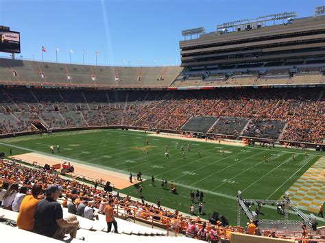 neyland stadium visitors section neyland stadium section z14 rateyourseats com