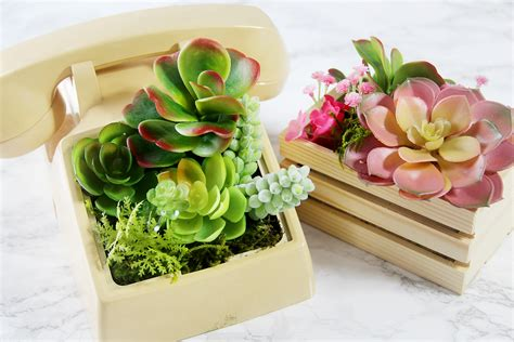 Planters Telephone by Diy Telephone Planter 3 Other Artificial Planter Ideas