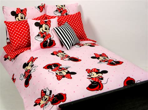 minnie mouse bedroom set minnie mouse barbie doll bedding set 1 6 by ellelalaboutique