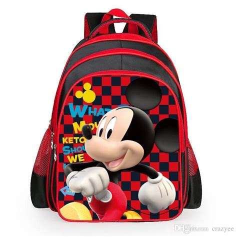 2016 new mickey minnie mouse backpack children s school bag new toddler backpacks
