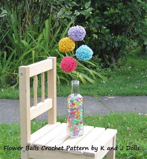 floral pattern en francais fleurs boules patron crochet gratuit amigurumi en