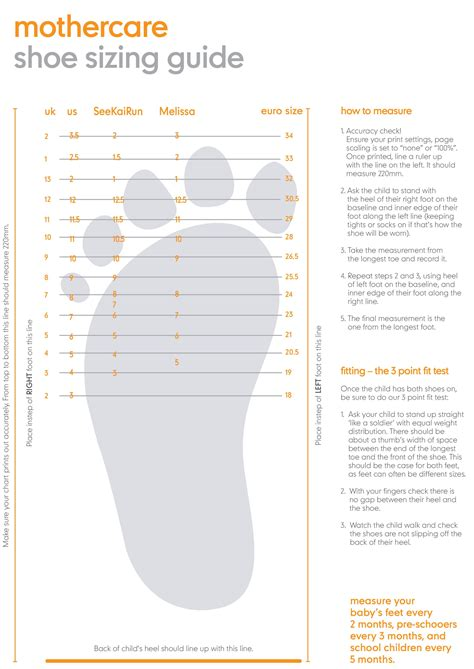 shoe size chart peru crib shoe sizes style guru fashion glitz glamour
