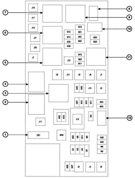 jeep commander fuse box diagram 2006 jeep commander fuse box diagram jpeg http