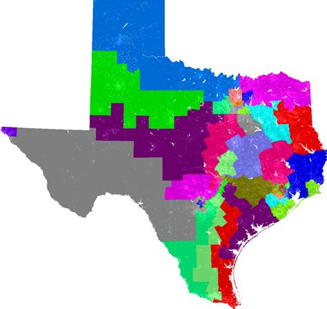 texas voting districts map some texas voting rights lawsuit updates the kuff