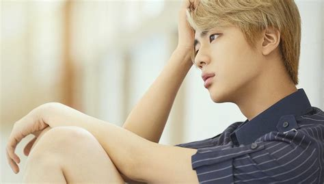 bts korea jin comments on going viral as third guy from the left