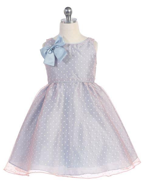 light blue polka dot dress light blue polka dot organza dress w bow