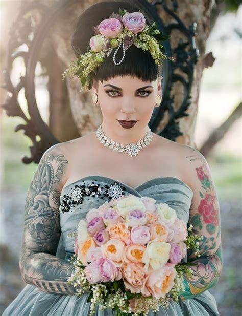 styled wedding shoots   year  rock  roll bride