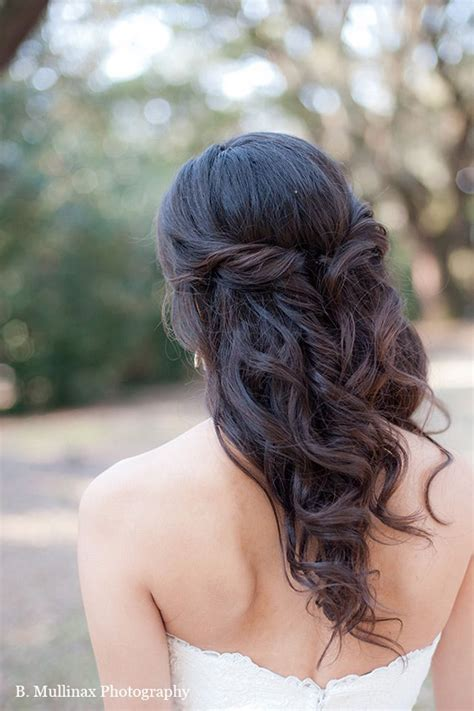 elegant hairstyles down 15 fabulous half up half down wedding hairstyles updo