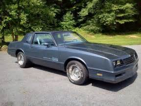 purchase used 84 monte carlo ss one owner dual exhast