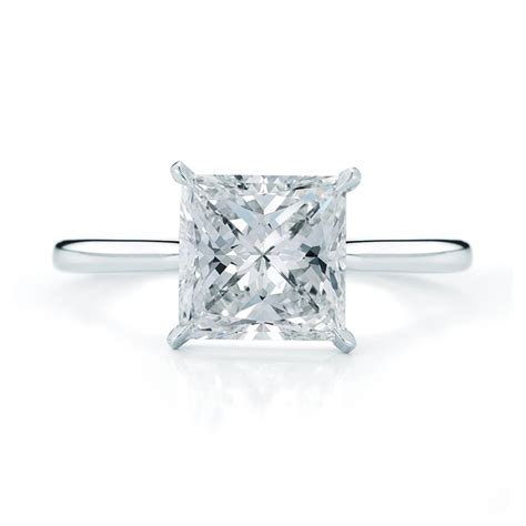 kwiat style 17703p princess cut engagement ring