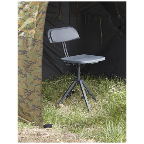 Guide Gear 360 Degree Swivel Blind Hunting Chair 300 Lb Swivel Blind Chair