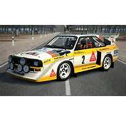 Eiger Nordwand  Court Audi Quattro S1 Rally Car 86
