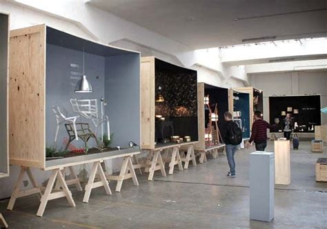 booth design materials amazing pop up space exceptional use of materials and