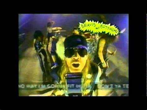 Garden Of Gnr Guns N Roses Garden Of With Beavis And