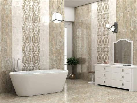 bathroom tile application diana silk wall tile size 300x600 mm for more