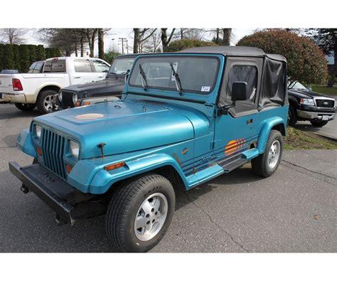 1991 jeep wrangler yj 1991 jeep wrangler yj islander vin 2j4fy39s1mj139759