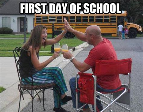First Day Of School Funny Memes - funny pictures first day of school