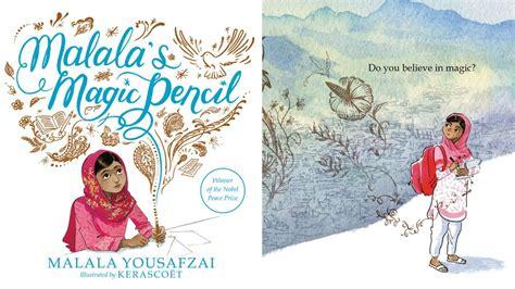 check out a sneak peek at malala s new book quot malala s magic pencil quot