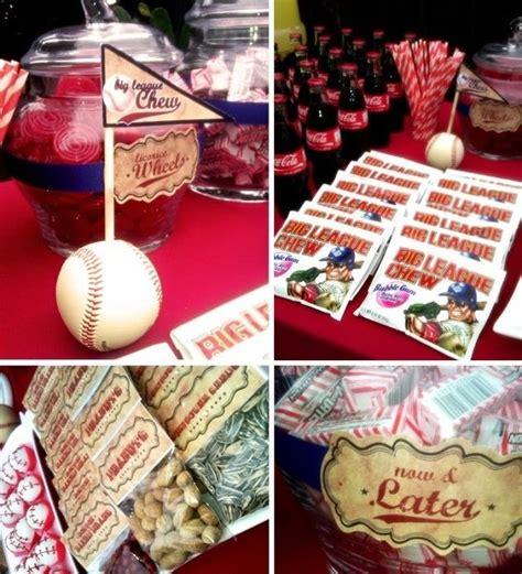 baseball themed birthday party baseball party theme birthday party pinterest