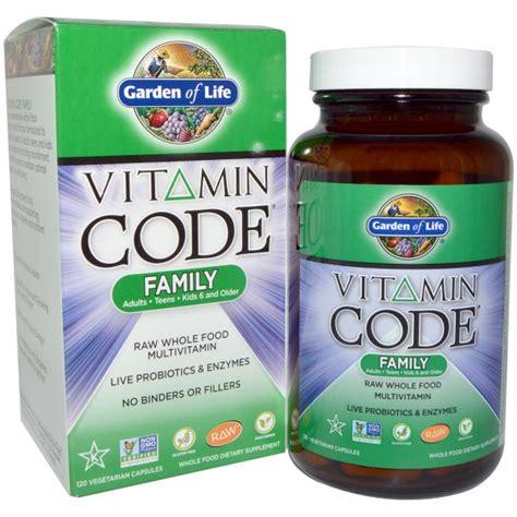 Garden Of Vitamins Garden Of Vitamin Code Family 120 Veggie Caps