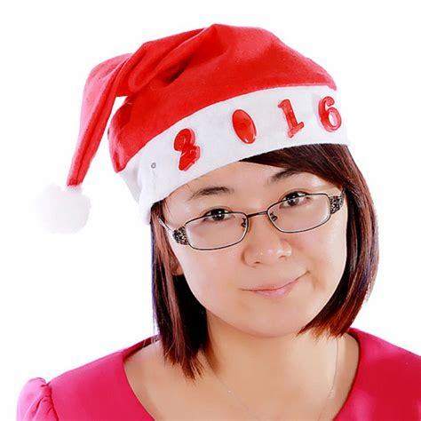 lighted santa claus hats fashion led light unisex christmas xmas novelty hat
