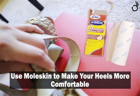 how to make high heels more comfortable 24 tricks life hacks for wearing new footwear looksgud in