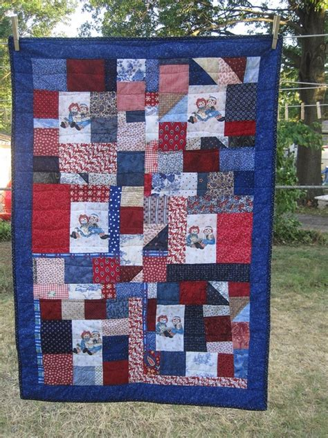 Raggedy And Andy Quilt scrappy raggedy and andy quilt products i
