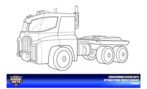 optimus prime rescue bots coloring pages pictures to pin